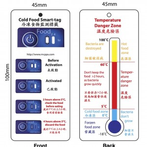 Cold Food Smart-tag (5°C)